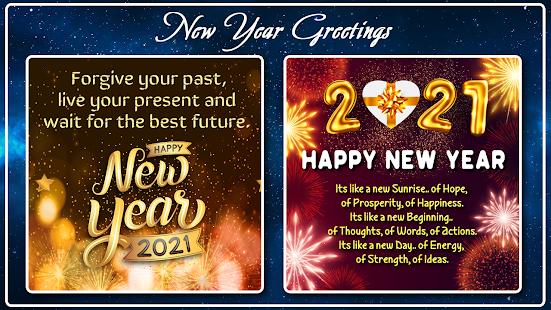 Happy New Year Photo Frame 2021 photo editor 2.2 Screenshots 6