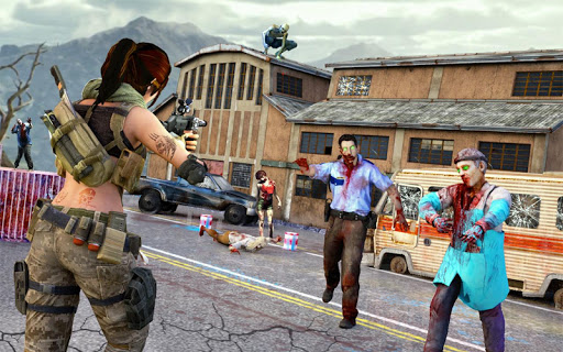 Zombie Shooter Gun Games : Zombie Games  screenshots 1