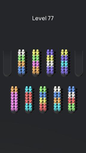 Crowd Sort - Color Sort & Fill  screenshots 3