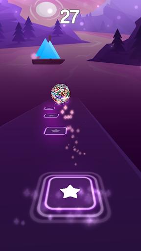 Undertale Theme Song Magic Beat Hop Tiles  screenshots 4