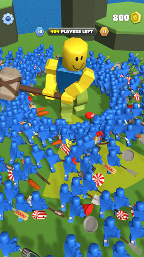 Roblock Smashers - Survival io game android2mod screenshots 15