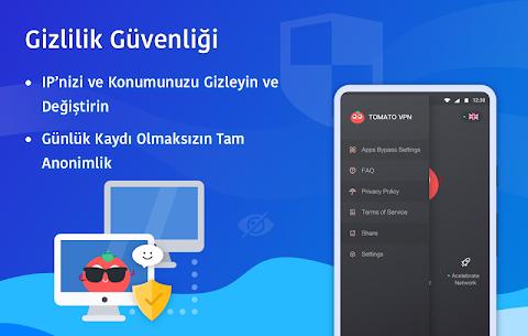 Ücretsiz VPN Tomato | En Hızlı Ücretsiz VPN Proxy Apk Son Sürüm 2021 5