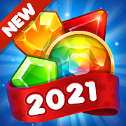 Gem & Jewel Blast: 2021 Match 3 Games Free No Wifi