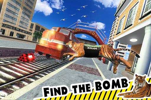 Police Tiger Chase Simulator: City Crime Apkfinish screenshots 1