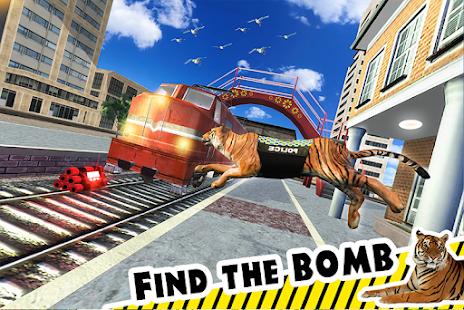 Police Tiger Chase Simulator: City Crime 4.1 screenshots 1