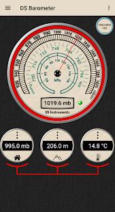 DS Barometer - Altimeter and Weather Information 3.78 Screenshots 9