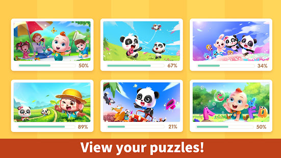 Baby Panda's Kids Puzzles