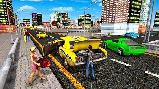 Extreme Taxi Driving Simulator - Cab Game apkdebit screenshots 13