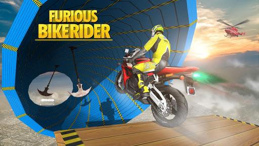 Télécharger Gratuit Furious Bike Stunt Rider APK MOD (Astuce) screenshots 1