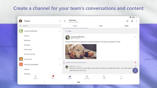 Microsoft Teams apktram screenshots 14