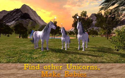 unicorn family simulator screenshot 2