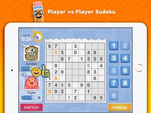 Sudoku Scramble - Head to Head Puzzle Game android2mod screenshots 13