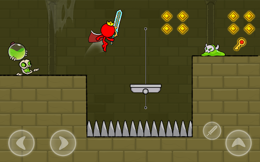 Red Stickman : Animation vs Stickman Fighting android2mod screenshots 15
