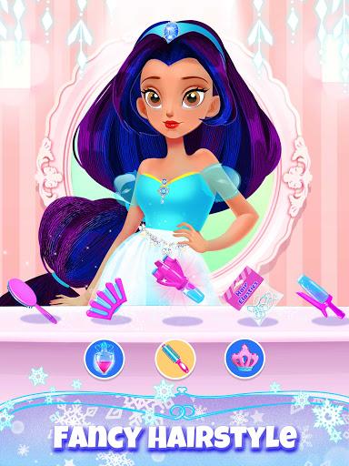 Girl Games: Princess Hair Salon Makeup Dress Up  screenshots 2
