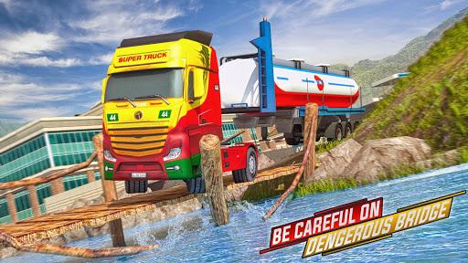 Offroad Oil Tanker Truck Simulator: Driving Games  screenshots 5