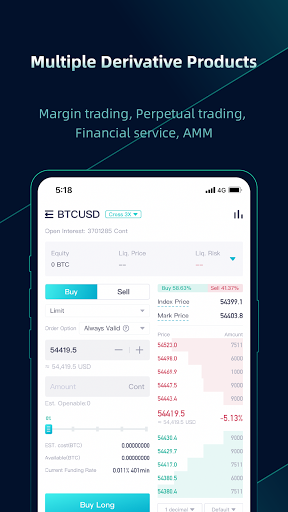 CoinEx - A Trustworthy Cryptocurrency Exchange android2mod screenshots 4