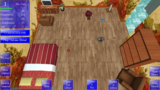 Cute Pocket Cat 3D 1.2.2.7 screenshots 1