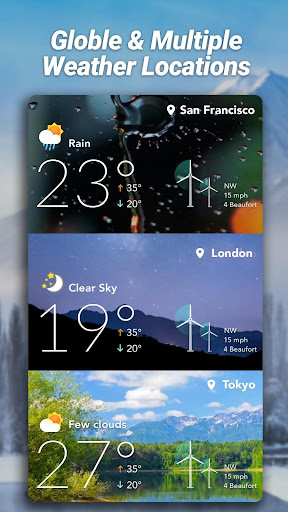 Accurate Weather: Weather Forecast, Clima Widget 1.1.8 Screenshots 7