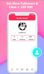 TikBoost: tiktok followers & fans & tiktok like