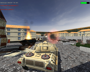 Steel Wolf –  Battle City 3D Hack for Android and iOS 1