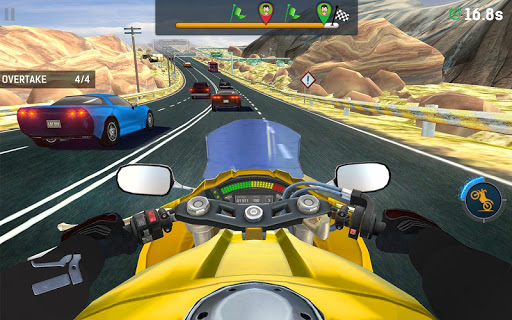 Bike Rider Mobile: Racing Duels & Highway Traffic apktram screenshots 5