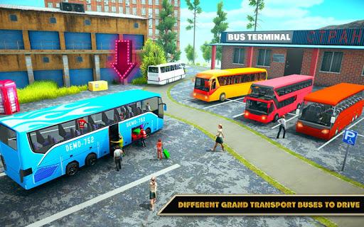 Offroad Bus Driving Simulator 2019: Mountain Bus apktram screenshots 4