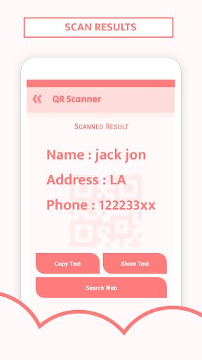 QR Code Scanner & Barcode reader plus  screenshots 5