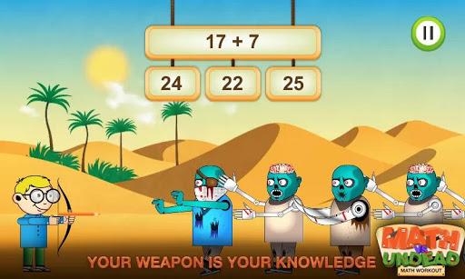 Math vs. Undead: Math Workout apkmr screenshots 4