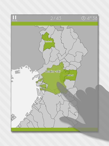 Enjoy Learning Osaka Map Puzzle 3.2.3 screenshots 6