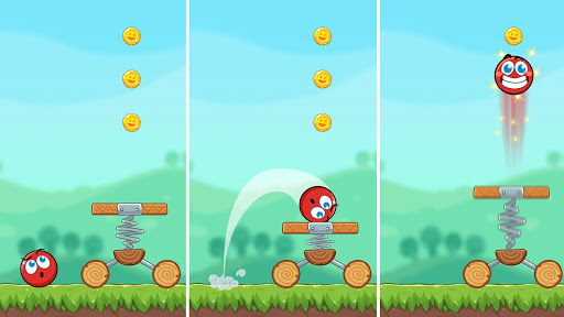 Red Bounce Ball Heroes  screenshots 7