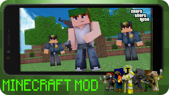 Craft Theft Auto for GTA Minecraft 2021 Apk Download 1