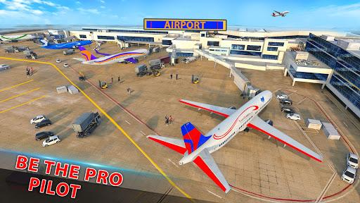 Airplane Pilot Flight Simulator New Airplane Games  Screenshots 4