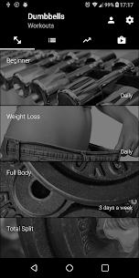 Dumbbell Home Workout Mod Apk [PREMIUM] Download 4