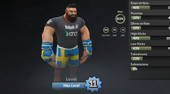 MMA Manager 0.35.3 Apk Mod (Unlocked) 2