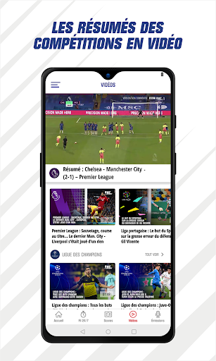 RMC Sport News - Actu Foot et Sports en direct 5.0.2 Screenshots 4