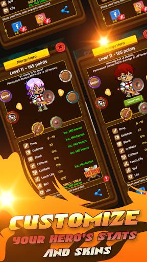 Mergy: Merge RPG game - PVP + PVE heroes games RPG apkslow screenshots 9