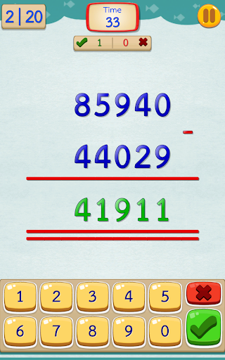 Math Fast Plus and Minus screenshots 4