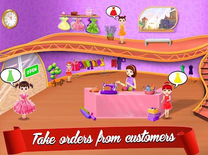Cute Dress Maker Shop: Little Tailor Boutique 1.0.5 screenshots 1