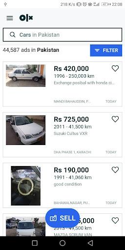Used cars for sale Pakistan 1.71 Screenshots 2