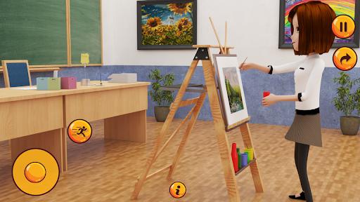 High School Girl Simulator u2013 Virtual School Life apktram screenshots 2