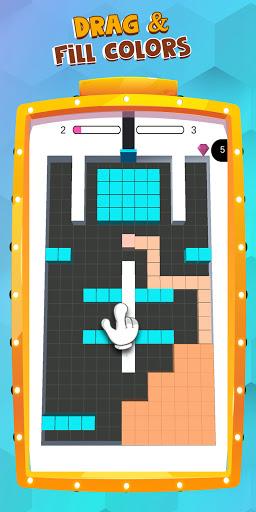Color Blocks Fill  - block puzzle - coloring games  screenshots 13