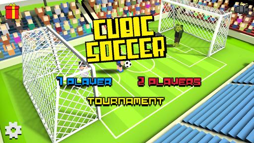 Cubic Soccer 3D screenshots 1