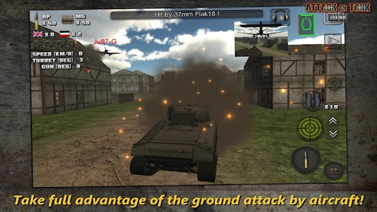 Attack on Tank : Rush – World War 2 Heroes Mod Apk 3.5.1 (Unlimited Money/Gold) 2