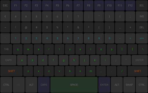 Foto do TBoard keyboard