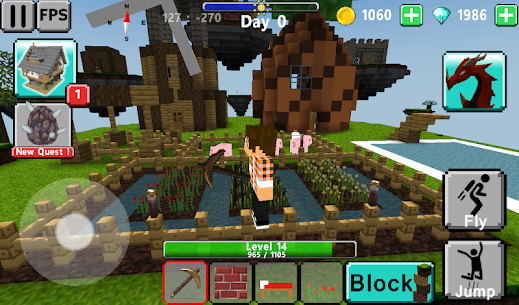 Sky & Block Race 3D : multiplayer 3