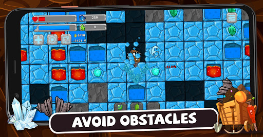 Digger Machine: dig and find minerals modavailable screenshots 2