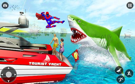 Superhero robot game police hero: rescue mission  Screenshots 20