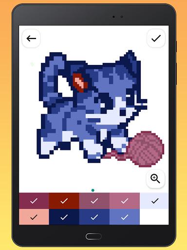 Color By Number - Unicorns Pixel Art apkdebit screenshots 15