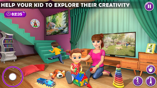 Virtual Mother New Baby Twins Family Simulator  screenshots 12