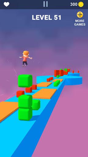 Cube Stacker Surfer 3D - Run Free Cube Jumper Game  screenshots 5